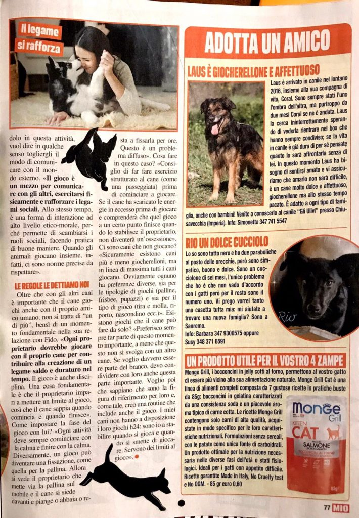 Intervista MIO animali